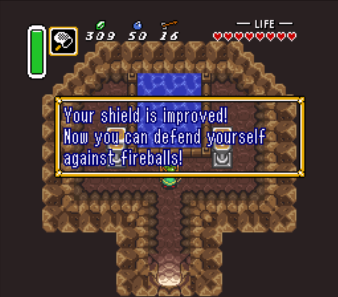 Waterfall of Wishing Improved Shield