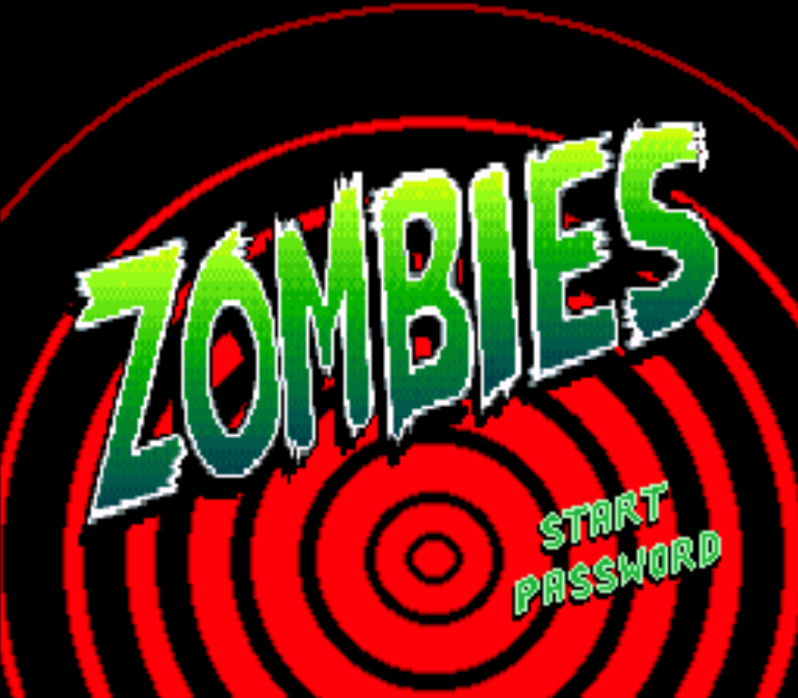 Zombies Title Screen
